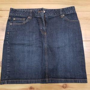Ann Taylor  Jean Skirt - Size 6